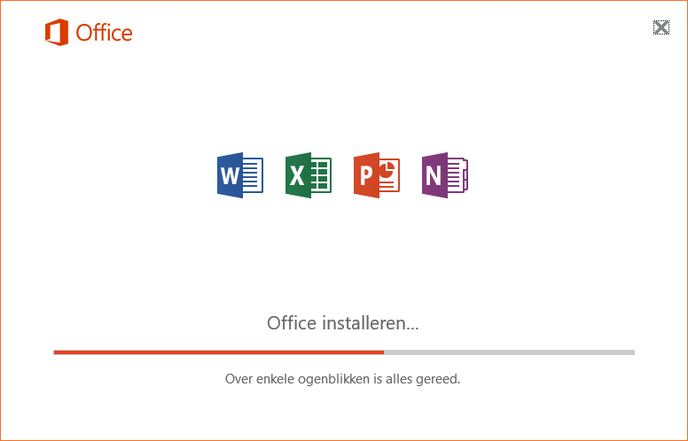 Microsoft Office 2016 installer with Outlook 2016 finally removed (verifiable by logos)